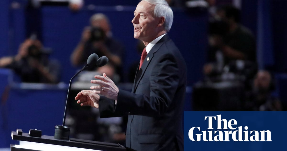 Arkansas governor who vetoed anti-trans law defends other anti-trans bills