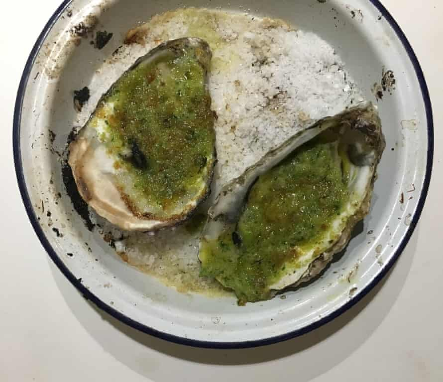 Gumbo Pages's oysters Rockefeller.