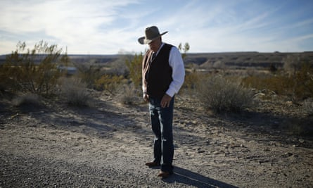 Cliven Bundy told a crowd of followers that 'God [is] going to be with us' and that it was time 'to take our land back'.