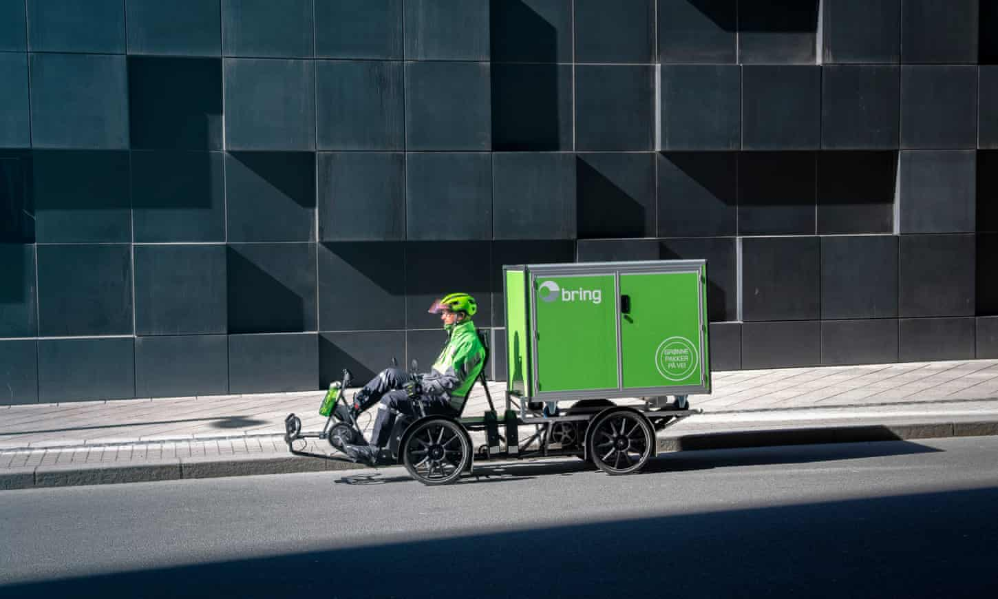 Can 'nests' and eco bikes reduce the environmental impact of parcel delivery in cities?