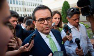 Mexico's economy minister, Ildefonso Guajardo, said progress on renegotiating Nafta had been made but the US and Mexico were 'not there yet'.