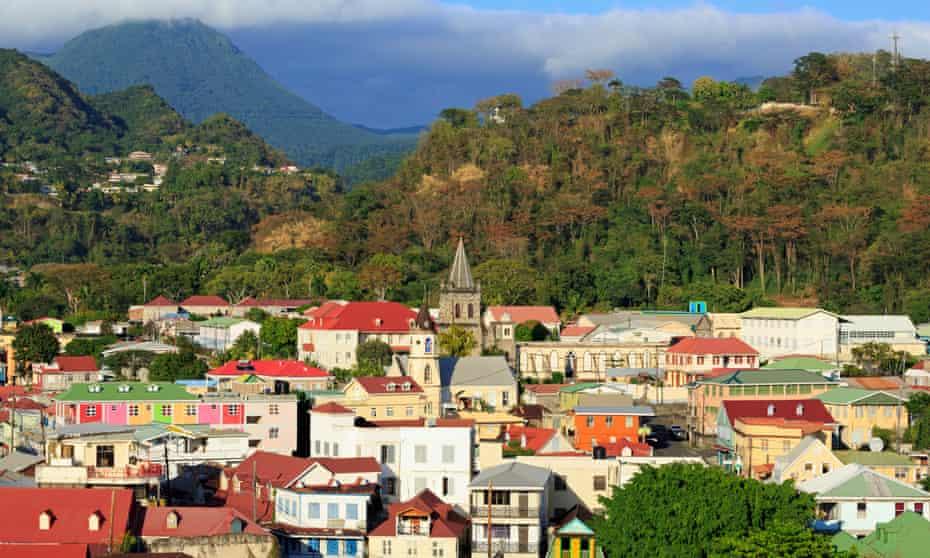 Roseau, the capital of Dominica