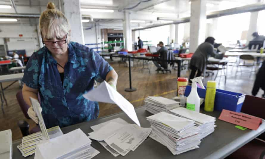 More voting by mail will also slow down reporting of election results, since election officials would have to count ballots coming in after election night.