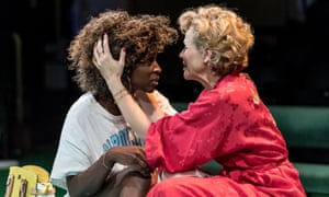 Sharon Duncan-Brewster as Stella and Maxine Peake as Blanche.