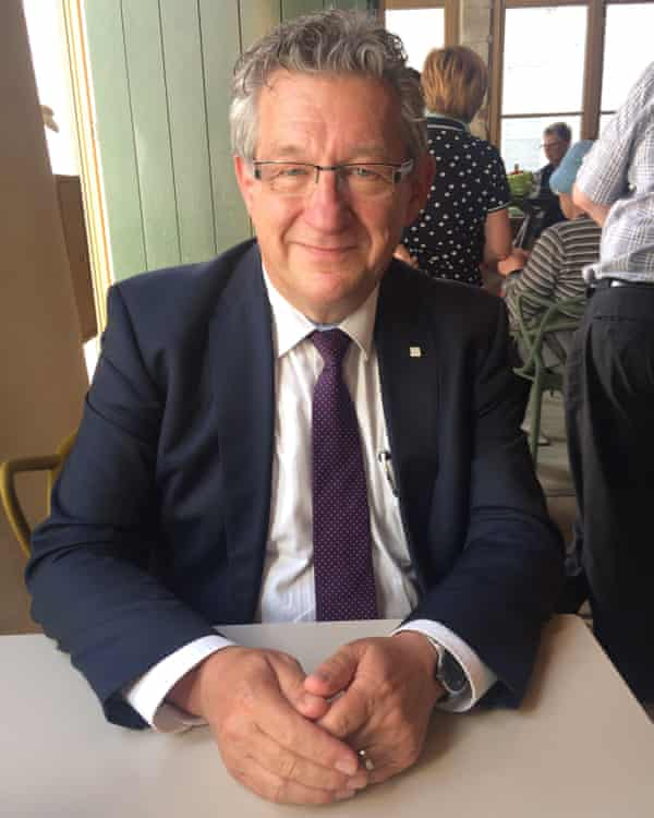 Dirk De fauw, the mayor of Bruges