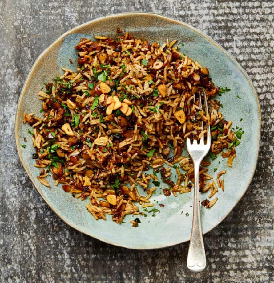 Yotam Ottolenghi's dirty rice (the veggie version).