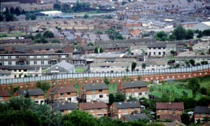There are now more peace walls separating communities than before the Belfast agreement