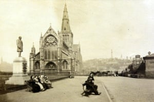 Cathedral and Necropolis, Glasgow, about 1868