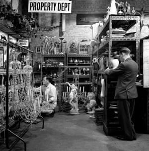 A corner of the Property Department in 1960