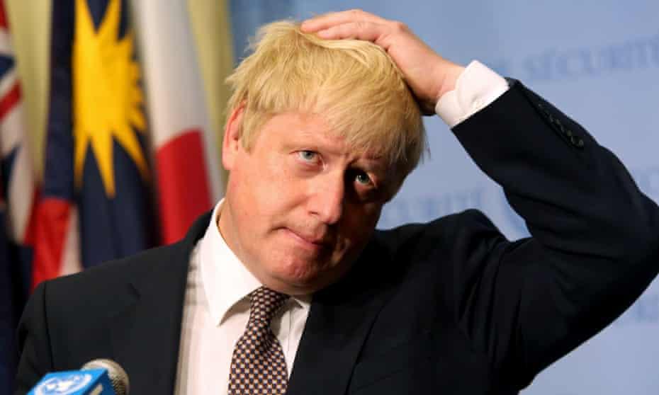 Boris Johnson at the UN