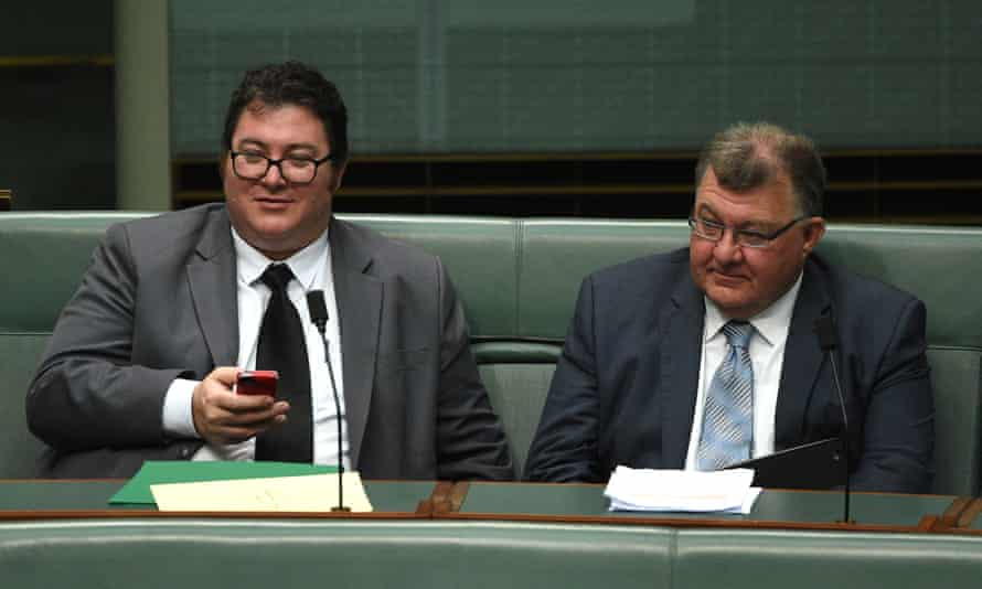 George Christensen and Craig Kelly
