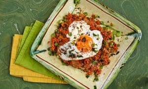 Jordan Bourke and Rejina Pyo's kimchi fried rice