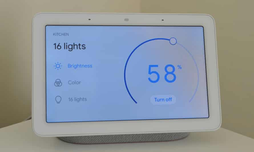 Google's Home Hub.