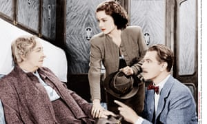 Dame May Whitty (left), with Margaret Lockwood and Michael Redgrave in The Lady Vanishes.