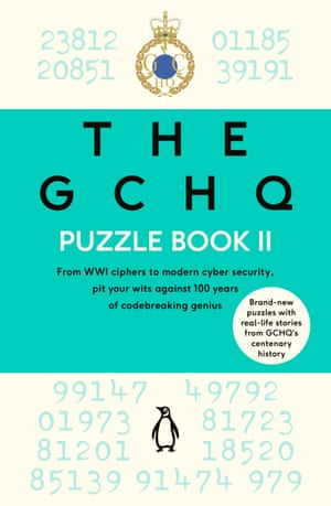 The cover of the GCHQ Puzzle Book II
