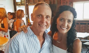 Neil Hall and Annette Daley, who have been left out of pocket after the collapse of Bestjet.