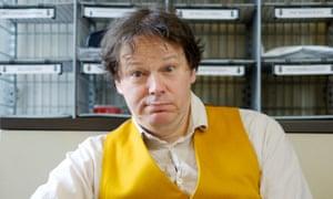 Anthropologist David Graeber.