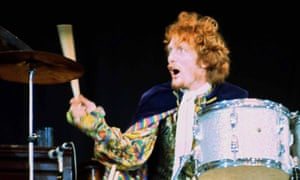 Ginger Baker performing with Cream.