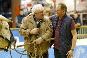 Gérard Depardieu and Benoît Poelvoorde in Saint Amour
