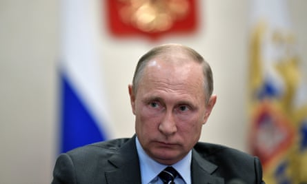 Russian president, Vladimir Putin: 'The Russian leadership will continue to reject the outcome of the cold war.'