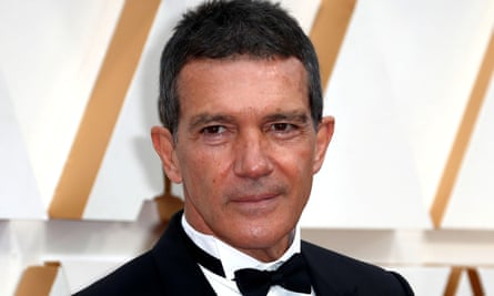 Banderas at the Oscars in February 2020.