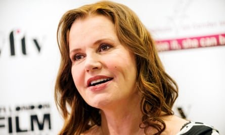 Geena Davis was speaking at the BFI in London