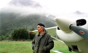 Douglas Tompkins, the North Face and Esprit founder, in the Palena region of Chile in 2000.