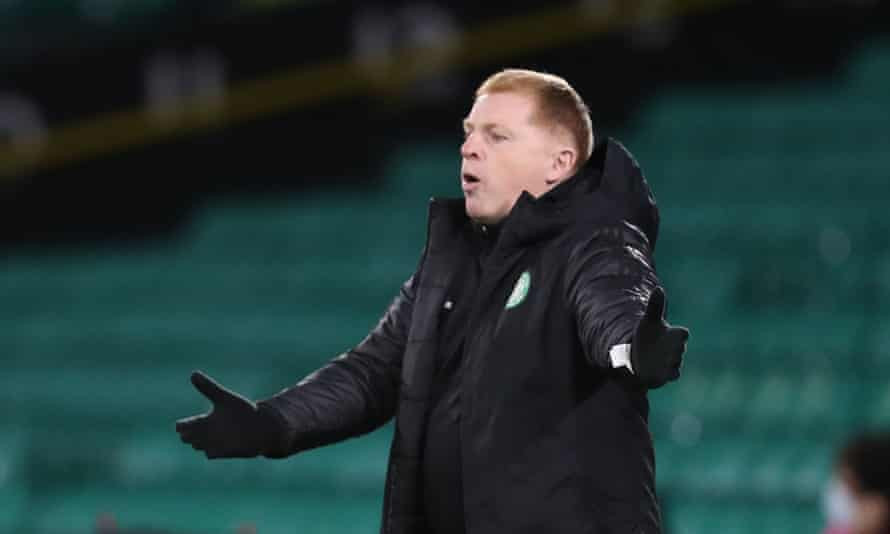 Neil Lennon said there were signs of improvement after the painful home defeat to Rangers.