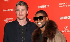 Garrett Hedlund and Usher, who star in Burden.