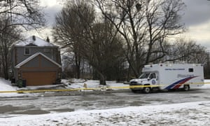 A property where police say they recovered the remains of at least six people from planters in connection with alleged serial killer Bruce McArthur, in Toronto, Canada.