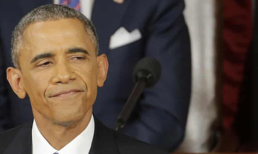 obama state of the union pause