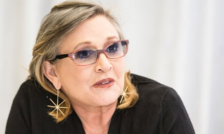 Carrie Fisher: 'I can't help you with your homework, but I can tell you what I did if I've had an experience like yours.'