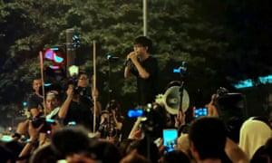 Hong Kong activist Joshua Wong, who is profiled in Joshua: Teenager vs Superpower