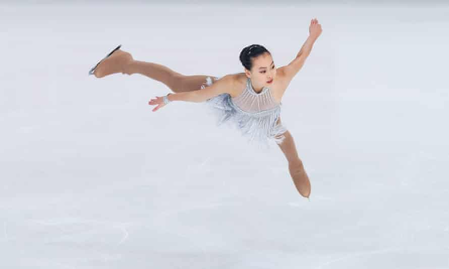 Jessica Shuran Yu competes in Germany in 2017, the year she represented Singapore at the world championships.