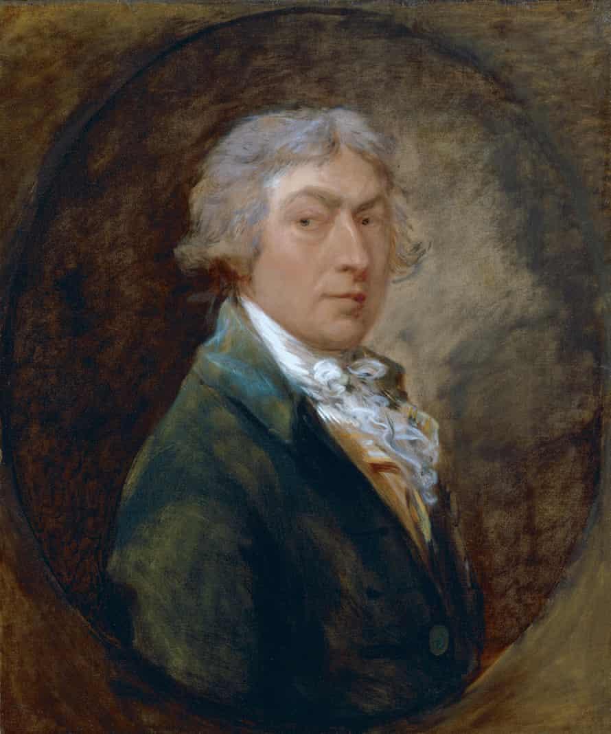 Self-portrait by Thomas Gainsborough c.1787.
