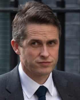 Former defence secretary Gavin Williamson.