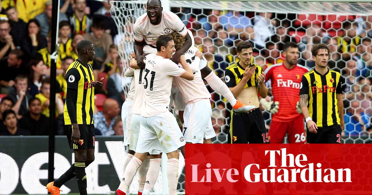Watford 1-2 Manchester United: Premier League  as it <a href='https://zofsports.blogspot.com/'>ดู บอล สด 3</a> happened