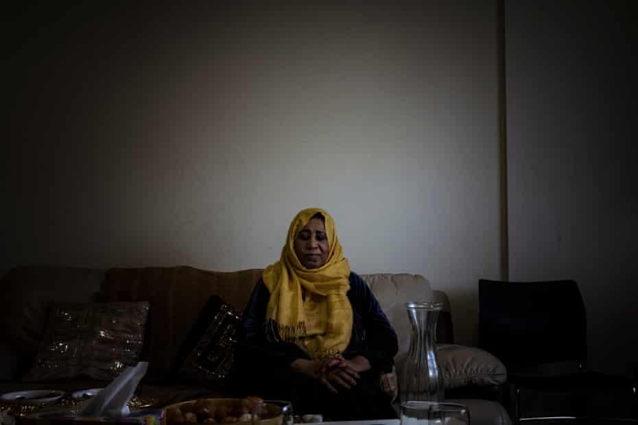 Awatif Taha, originally from Sudan, has lived on the Flemington estate for 18 years