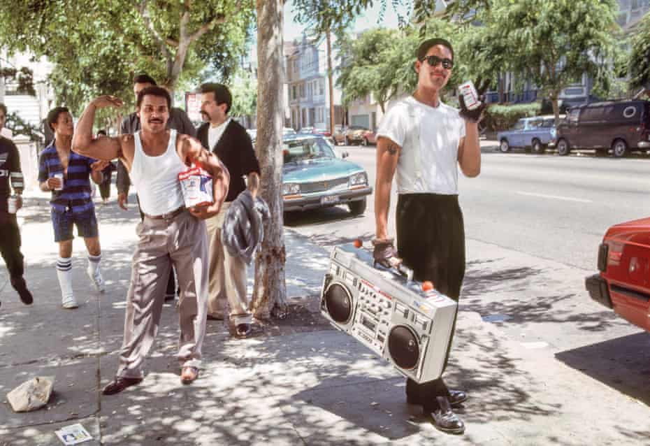 Young Men With Beer and Music, 1986