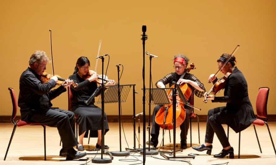 Harmonic soup … the Bozzini Quartet.