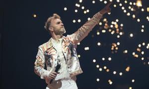 Gary Barlow of Take That.