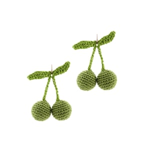 Crochet cherry £160, Rosie Assoulin (farfetch.com)