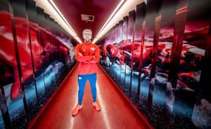Emil Forsberg has made a name for himself at RB Leipzig and at 28 is only four years younger than the coach, Julian Nagelsmann.