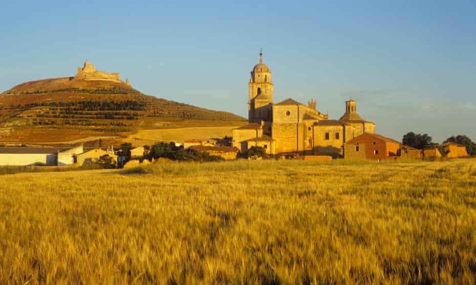 Colegiata de Santa Maria del Manzano, near Burgos.