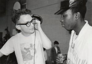 Moby DJing in New York in 1989