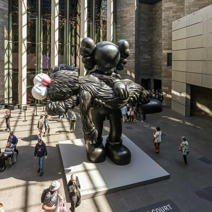 Commissioned by the NGV, Gone is the artist's largest ever bronze sculpture.