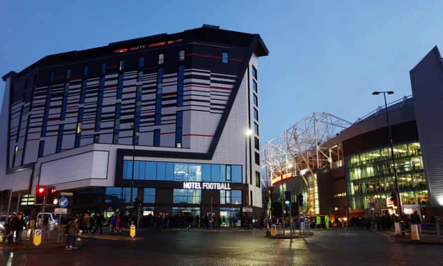 Hotel Football, part owned by Ryan Giggs and Gary Neville, is the biggest development around Old Trafford in recent years