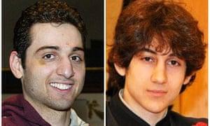 Tamerlan and Dzhokhar Tsarnaev, the Boston bombers.