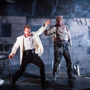 Duncan Rock and Andrii Goniukov in Glyndebourne's Dob Giovanni