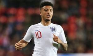 Jadon Sancho could look to plough Anfield's recently neglected 'Ibe Furrow'.